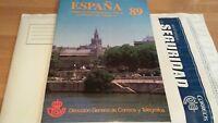 CARPETA OFICIAL ESPAÑA 1989 LIBRO COMPLETO ** OFERTA ÚNICA Y ESPECIAL . DIFÍCIL