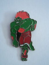 STREET FIGHTER 2 Pin Badge-BLANKA-RARE