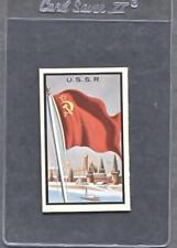 1963 Topps Midgee Flags #92  U.S.S.R.  (Good)  (Flat Rate Ship)