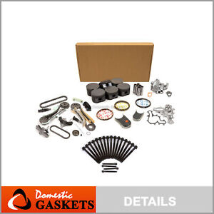 Overhaul Engine Rebuild Kit For 04-06 Mercury Ford Explorer Mountaineer 4.0L V6