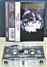 VAN MORRISON         - ENLIGHTENMENT -                            Cassette Tape