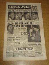 MELODY MAKER 1957 DECEMBER 7 GLENN MILLER BAND MARTY WILDE SHAND DANKWORTH +