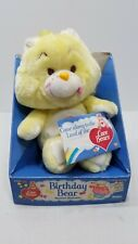 Vintage Care Bears Birthday Bear New in Box 1984
