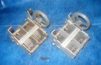 zwei 2-fach Drehkondensator mit Übersetzung abnehmbar 550p