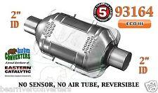 "93164 Eastern Universal Catalytic Converter ECO III Catalyst 2"" Pipe 10"" Body"