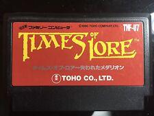 TIMES-OF-LORE-Nintendo-Famicom-FC-NES-Japan-Import-US-