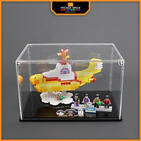 Display stand and case for LEGO Ideas: Yellow Submarine (21306)
