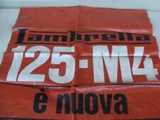 Insegna telone Lambretta 125 4M Innocenti old sign