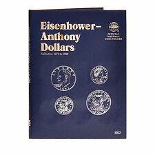 Whitman Eisenhower Anthony Dollar Coin Folder 9023 1971-1999