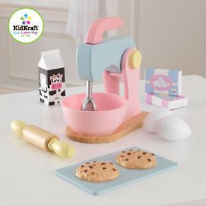 Kidkraft Pastel Wooden baking set | Wooden Kitchen Accessory Set