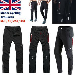 Men Cycling Trousers Drying MTB Bike Riding Bicycle Sport Long Pants Waterproof