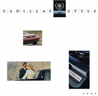 1991 Cadillac Brochure: ALLANTE,DeVILLE,FLEETWOOD,60,ELDORADO,SEVILLE,BROUGHAM,