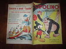 WALT DISNEY ALBO D'ORO N°39 TOPOLINO E IL GORILLA SPETTRO 1*RISTAMPA 1951 ALBO B