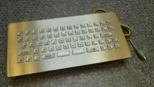 EAO W.630KX.055 Stainless Steel Kiosk Panel UK Keyboard - USB and P/S 2