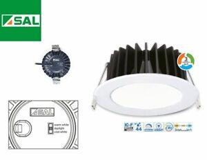 10w LED Downlight CCT Changing Warm, Cool or Daylight SAL Lighting S9041TC