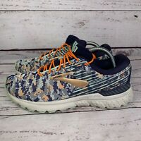 Brooks Womens Adrenaline 19 Blue Lace Up Running Sneaker Shoes Size10 No Insole