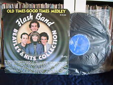 FLASH BAND | Old times good times medley | Beatles and hits colection |  LP EX
