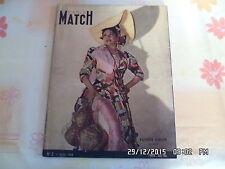 PARIS MATCH N°2 01/04/1949 KATHRIN DUNHAM CON COLLEANO PRINCESSE ELISABETH   J20