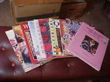 Lot of 10 Assorted Quilting Books Patterns Very good #3