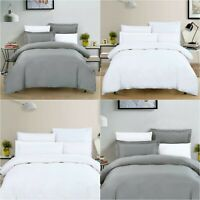 LUXURY DUVET COVER BEDDING SET 400TC 500TC 600TC 100% EGYPTIAN COTTON ALL SIZES