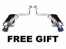 Invidia Q300 Titanium Tip IS250/350 14-15 RWD CatBack muffler exhaust  FREE GIFT