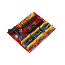 Gravure cnc shield machine V4 axes pas à pas moteur conducteur pour arduino grbl compatible