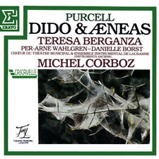 CD – PURCELL - Dido and Aeneas - MICHEL CORBOZ - Teresa Berganza - Wahlgren