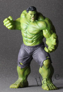 """10"""" The Avengers toy Hulk PVC Action Statue Figure Crazy Toys Hot"""