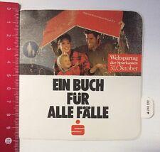 Aufkleber/Sticker: Sparkasse - Ein Buch Für Alle Fälle (090316169)