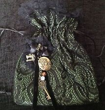 Reproduction Drawstring Vintage Bags, Handbags & Cases