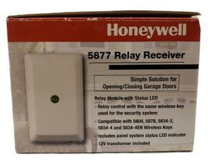 Honeywell 5877 Wireless Garage Door Relay Receiver - Lynx Touch - Z-wave NIB