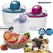 Eis Maschine Silvercrest Eis Maker Inkl. Rezeptvorschlägen Eis Speiseeis NEU OVP