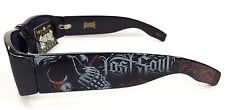 Authentic Dyse One Shades Lost Soul Skull Crying Sunglasses Cali Lowrider Style