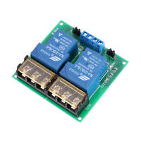 DC 12V 30A 2-Ch Relay Board Module Optocoupler Isolation High/Low Trigger T4N5