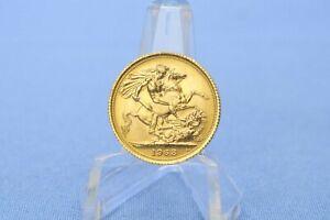Großbritannien 1 Sovereign 1968 Elisabeth II  *7,98 Gramm - 917 Gold * Vz+