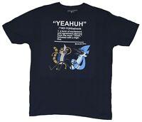 Mens Cartoon Network Brand Regular Show Yeahuh Shirt New XS