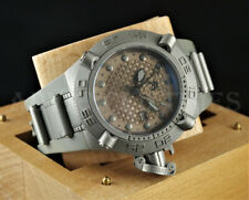 Invicta 50mm Subaqua Noma IV GMT Swiss Made Gray 500m Diver Poly Watch 1156
