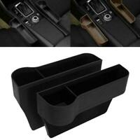 Car Seat Gap Catcher Filler Storage Box Pocket Case ABS Organizer Holder F0W6