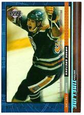 WAYNE GRETZKY 1999-00 Upper Deck Gretzky Exclusive - card # 9 (ex-mt)