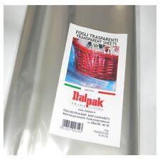 Fogli trasparenti cellophane confezione da 50 pz per pacchi regali cm.100x130