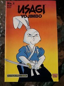 USAGI YOJIMBO #1 1986 Fantagraphics Books, 1st Printing NM