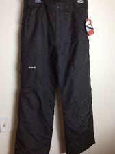 SkiGear Black Ski Snowboard Pants Size M Men's NWT