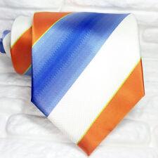 Cravatta Uomo righe Nuova 100% seta Top quality Made in Italy marca Morgana