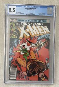 Uncanny X-Men #158 (1982) CGC 8.5 Marvel Comics 1st App of Rogue