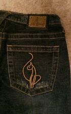 Junior 1 Baby Phat 25 x 32 flare boot cut bell bottom straight gold bling swag
