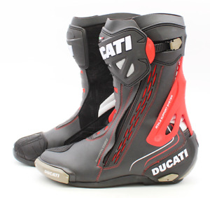 Ducati Corse Racing Boots Size US 12/Eu 46 PN 981041746