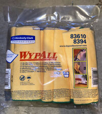 "NEW SEALED WypAll 6 Pack 83610 YELLOW Microfiber Cloths 15.75"" x 15.75"""