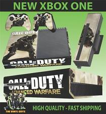 XBOX ONE Console Adesivo Call of Duty Advanced WARFARE SKIN e 2 SKIN PER PAD