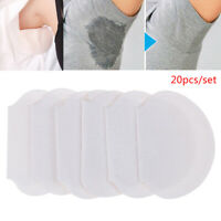 New 20pcs Underarm Armpit Sweat Pads Stickers Shield Guard Absorbing Disposable