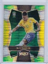 2016 Select Soccer Neymar Jr Mezzanine Base Multi-Color Prizm Brazil PSG